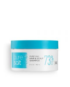 Pure Salt Purifying Hair & Scalp Shampoo 73%