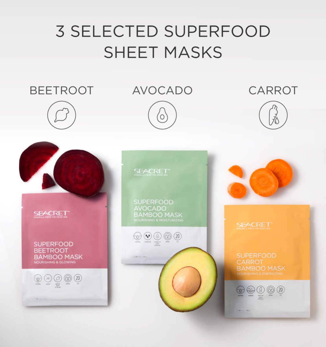 SUPERFOOD MASK COLLECTION